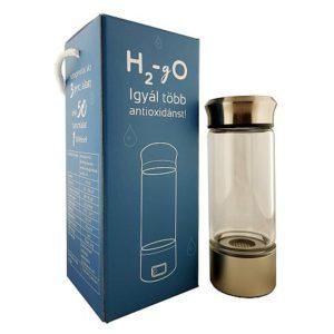 H2 gO hidrogénes vízkészítő palack