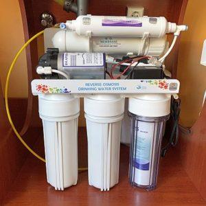 RO 102 viztisztító szivattyús kivitel